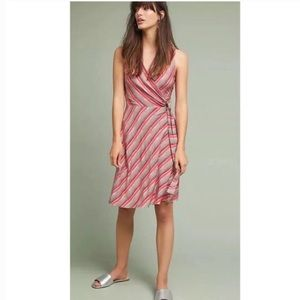 Anthropologie Bailey 44 Emile Belted Wrap Dress